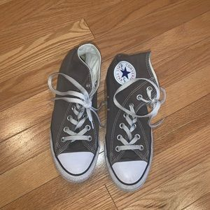 Shoes - Grey Converse High Tops